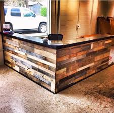 Plywood Reception Desk Miami Reception Desk Design Entry Contemporary With Multiple