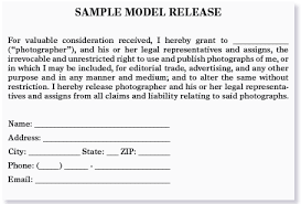 model release form template free great clear explanations on exactly when a model release is