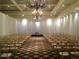 pipe and drape wedding event gallery fabrication events