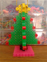 3d perler bead christmas tree ornament crafty amino