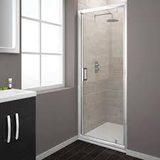 turin pivot 8mm easy fit shower door from victorian plumbing co uk