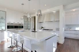 white island kitchen white island also white quartz countertops for contemporary