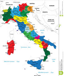 Maps Of Italy Political Map Of Italy Royalty Free Stock Photography Image