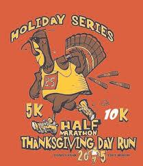 2015 thanksgiving day half marathon 10k 5k 1 mile run