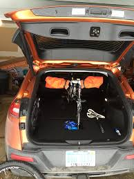 jeep cherokee mountain bike needed more height for mt bike inside 2014 jeep cherokee forums