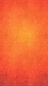 abstract pattern in orange color mobile wallpaper phone background