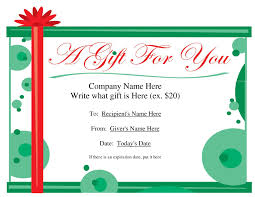 pages templates for gift certificate gift certificate template for pages daway dabrowa co