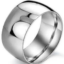 Steel Wedding Rings by Stainless Steel Ring Ebay