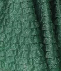 green tulle unique vintage 1950s emerald green ruffled tulle sweetheart cupcake sw