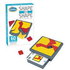 amazon com thinkfun shape by shape game toys u0026 games