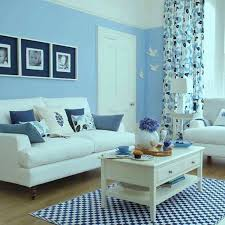 blue paint living room pictures