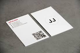 business card resume