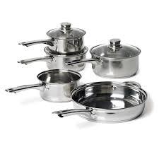 kitchen aid amazon black friday saucepan le creuset 3 ply stainless steel 3 piece saucepan set
