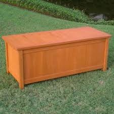 Atwoods Outdoor Furniture - coral coast atwood outdoor wood 90 gallon storage deck box from