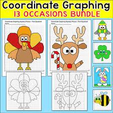 thanksgiving math coordinates worksheet on thanksgiving images
