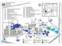 dayton map facility map dayton va center ohio