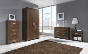 Contemporary Bedroom Furniture Walnut Home Interior Design To Ideas - Milano bedroom furniture