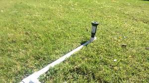 pvc lawn sprinkler youtube