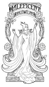 maleficent coloring pages to download and print for free