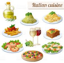 fond blanc cuisine ensemble dicônes de nourriture isolé sur fond blanc cuisine