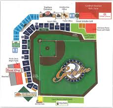 Frontier Seat Map Gateway Grizzlies