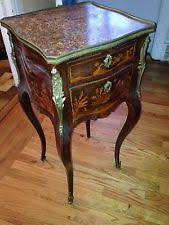 Antique Nightstands With Marble Top France Antique Nightstands 1800 1899 Ebay