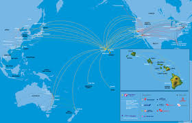 Honolulu Airport Map Honolulu International Airport World Airline News