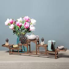 online shop antique curio box shelf wenge desktop decors home