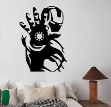 online get cheap superhero wall decals aliexpress com alibaba group marvel comics classic wall decal superhero iron vinyl wall stickers for kids rooms boys man bedroom