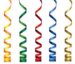 happy birthday ribbon curly ribbons transparent png clip image birthday clip
