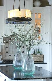 farmhouse kitchen changes lighting above the kitchen stonegableblog com jpg