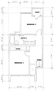 Upstairs Floor Plans by Floorplans Dos Pinos Housing Cooperative