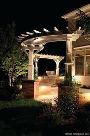 curved pergola sears garden oasis pergola canopy arched pergola