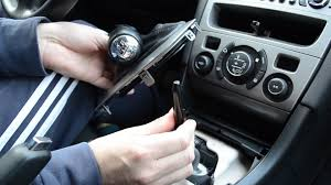 how to remove change gear knob on peugeot citroen youtube