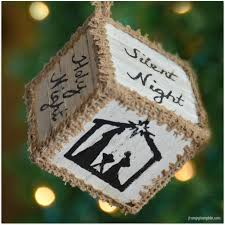 pallet block ornaments for hometalk