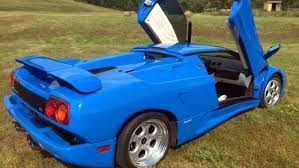 blue lamborghini diablo donald s lamborghini diablo vt roadster is for sale the drive