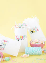 print your own treat bags damask