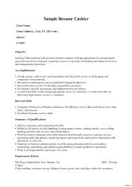 excellent resume exle resume cashier amazing description exle sle skills