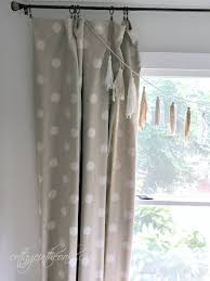 Window Length Curtains Diy Quick U0026 Easy Floor Length Curtains Cottage In The Oaks