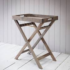 butler table with tray butler s tray by all things brighton beautiful notonthehighstreet com