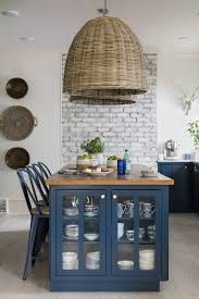 How To Save Money On Kitchen Cabinets Ask A Designer Bold Color On Kitchen Cabinets Is A Thing