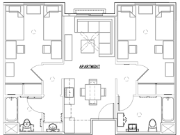 mission san diego de alcala floor plan second year housing residential life university of san diego