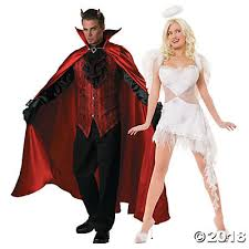costumes couples and angel couples costumes