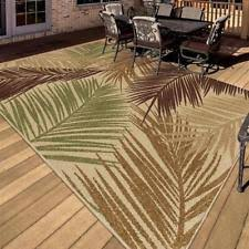 Outdoor Indoor Rugs Polypropylene Indoor Outdoor Tropical Area Rugs Ebay