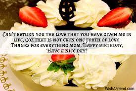 Thanksgiving Sms For Birthday Wishes Birthday Wishes For Mom