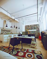 white studio apartments