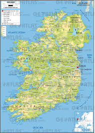 Map Ireland Geoatlas Countries Ireland Map City Illustrator Fully