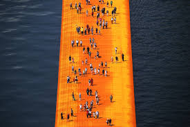 Floating Piers by Floating Piers In Italy Posh Brazilian