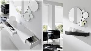 muebles para recibidor mueble para recibidores con cajón y espejo benvenuto kiona
