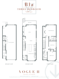 bc floor plans vogue u2013 12 stylish townhomes